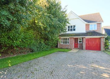 Thumbnail 4 bedroom detached house for sale in Field End, Balsham, Cambridge
