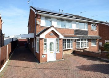Thumbnail 3 bed semi-detached house for sale in Walcot Grove, Eaton Park, Stoke-On-Trent
