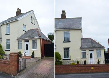 Thumbnail 4 bed semi-detached house for sale in All Hallows Road, Bispham, Blackpool