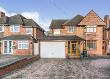 4 bed detached house for sale in Buryfield Road, Solihull, West Midlands B91