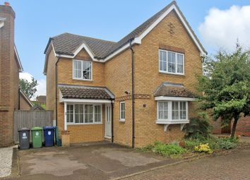 Thumbnail 3 bed detached house for sale in Pippin Close, Over, Cambridge