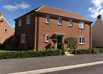 Thumbnail 4 bed detached house for sale in Harrow Drive, Headley, Thatcham