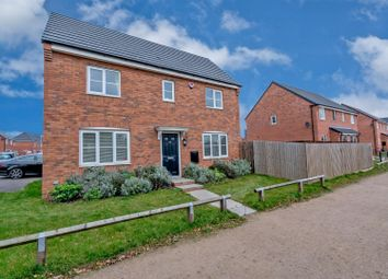 Thumbnail 3 bed detached house for sale in Navy Close, Burbage, Hinckley