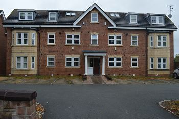Thumbnail 2 bed flat to rent in Oriel Court, Prenton, Wirral