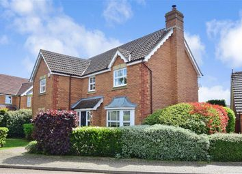 Thumbnail 4 bed detached house for sale in Lapins Lane, Kings Hill, West Malling, Kent