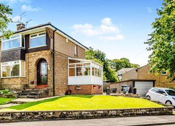 Thumbnail 3 bed semi-detached house for sale in Pennine View, Linthwaite, Huddersfield