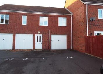 Thumbnail 2 bed maisonette for sale in Russell Street, Willenhall, West Midlands