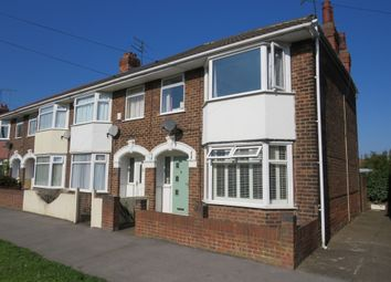 Thumbnail 3 bed end terrace house for sale in Goddard Avenue, Hull