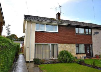 Thumbnail 3 bed semi-detached house for sale in Pettingale Road, Croesyceiliog, Cwmbran