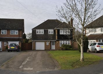 Thumbnail 4 bed detached house to rent in Covert Close, Oadby