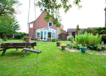 Thumbnail 4 bed detached house for sale in Burnham Close, Trimley St. Mary, Felixstowe