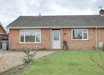 Thumbnail 2 bed semi-detached bungalow to rent in Grant Road, Spixworth, Norwich