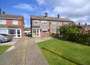 Thumbnail 3 bed end terrace house for sale in Markhams, Corringham, Stanford-Le-Hope