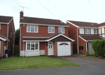 Thumbnail 4 bed detached house to rent in The Limes, Ravenstone, Coalville