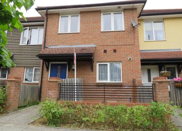 Thumbnail 3 bed terraced house for sale in Oakworth Avenue, Broughton, Milton Keynes