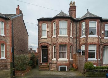 Thumbnail 3 bed end terrace house for sale in Broom Road, Hale, Altrincham