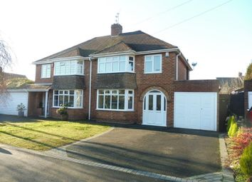 Thumbnail 3 bed semi-detached house for sale in Oakfield Avenue, Dudley