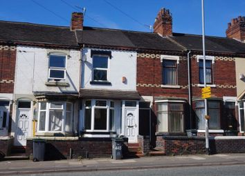 Thumbnail 2 bed terraced house to rent in Victoria Road, Joiners Square, Stoke-On-Trent