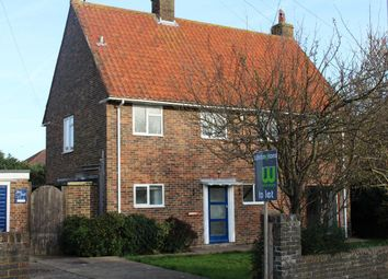 Thumbnail 3 bed property to rent in Forest Road, Broadwater, Worthing