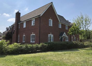 Thumbnail 4 bed detached house for sale in Crowsfurlong, Rugby