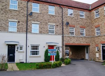 Thumbnail 4 bed town house to rent in Squirrel Chase, Witham St Hughs, Lincoln