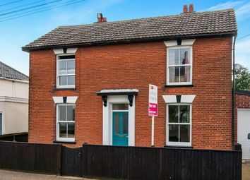 Thumbnail 3 bed detached house for sale in Shelfanger Road, Diss