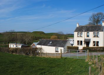 Thumbnail 3 bedroom farmhouse for sale in Haugh Of Urr, Castle Douglas