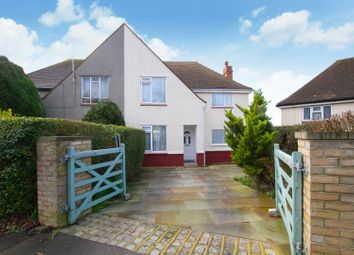 Thumbnail 3 bed semi-detached house for sale in Calgary Crescent, Folkestone