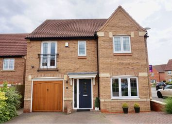 Thumbnail 4 bed detached house for sale in Hillcrest Drive, Loughborough