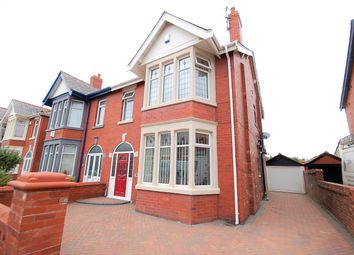Thumbnail 4 bed semi-detached house for sale in Woodstock Gardens, Blackpool, Lancashire