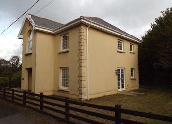 Thumbnail 5 bed detached house to rent in Llandeilo Road, Carmel, Llanelli