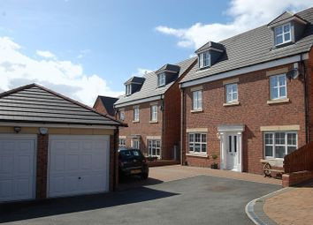 Thumbnail 4 bed detached house for sale in Cawfields Close, Wallsend