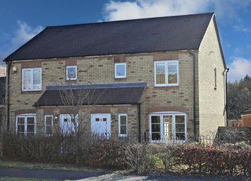 Thumbnail 3 bed semi-detached house for sale in Aurora Drive, Beggarwood, Basingstoke