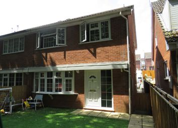 Thumbnail 4 bed semi-detached house for sale in Bryncyn, Cardiff