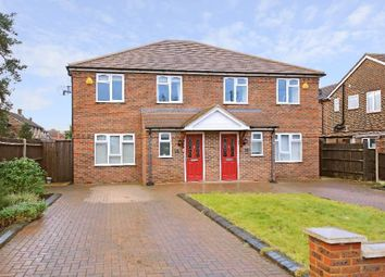 Thumbnail 4 bed semi-detached house for sale in Croxdale Road, Borehamwood