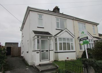 Thumbnail 3 bed semi-detached house for sale in Fort Austin Ave, Crownhill, Plymouth