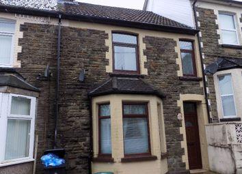 Thumbnail 3 bed terraced house for sale in Oak Street, Abertillery