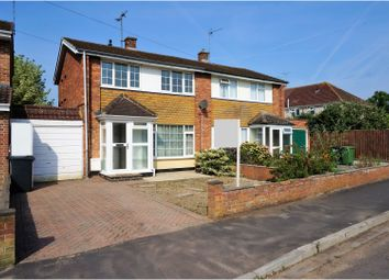 Thumbnail 2 bed semi-detached house to rent in Swallowfield Avenue Old Walcot, Swindon