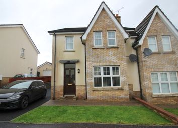 Thumbnail 3 bed semi-detached house to rent in Greenhall Court, Coleraine