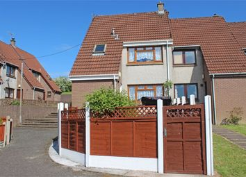 Thumbnail 3 bed end terrace house for sale in Windsor Court, Lockerbie, Dumfries And Galloway