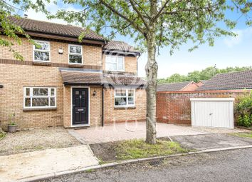 Thumbnail 3 bed semi-detached house for sale in Thresher Grove, Greenleys, Milton Keynes