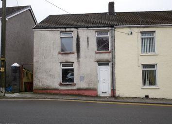 Thumbnail 4 bed end terrace house for sale in Bridgend Road, Maesteg