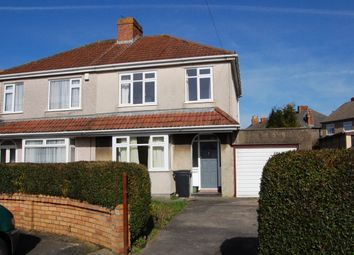Thumbnail 3 bedroom semi-detached house for sale in Brockhurst Road, Kingswood, Bristol