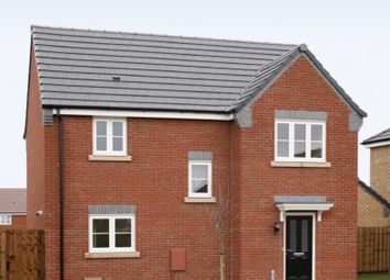 Thumbnail 3 bed detached house for sale in Stanton Road, Sapcote, Leicester