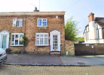Thumbnail 2 bed end terrace house to rent in Station Road, Bow Brickhill, Milton Keynes