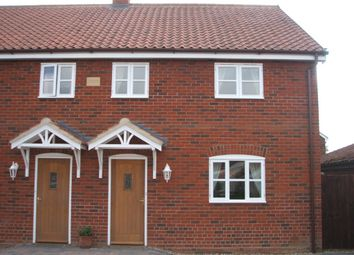 Thumbnail 3 bedroom semi-detached house to rent in The Street, Ashwellthorpe, Norwich