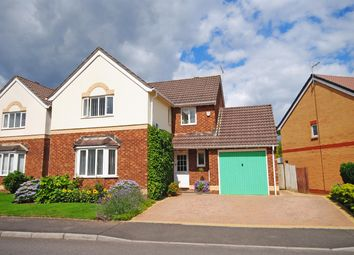 Thumbnail 4 bedroom detached house for sale in Hastings Crescent, Old St. Mellons, Cardiff