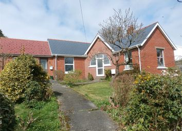 Thumbnail 3 bed detached bungalow for sale in Bryn Yr Eglwys, Lampeter, Ceredigion