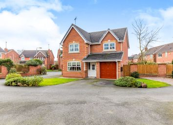 Thumbnail 4 bed detached house for sale in St. Catherines Close, Uttoxeter