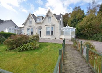 Thumbnail 5 bedroom link-detached house for sale in Marine Parade, Hunters Quay, Dunoon, Argyll And Bute